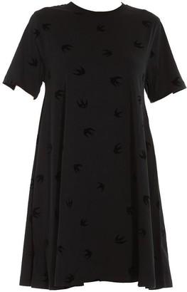 McQ Swallow T-Shirt Dress