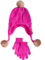 Berkshire 2-Pc. Heidi Hat and Gloves Set, Little Girls and Big Girls