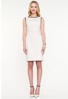 Le Château Double Weave Fitted Dress