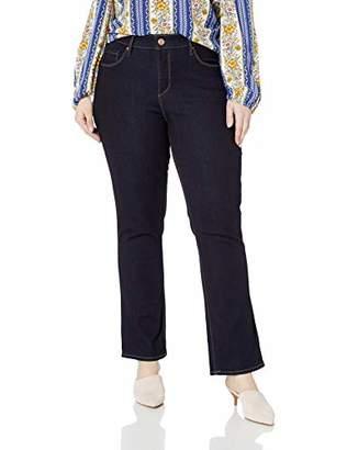 Vintage America Blues Women's Plus Size Wonderland Slim Straight Jean