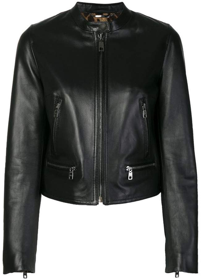 Dolce & Gabbana classic leather jacket