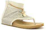 Lamo Ivory Leather Happy Hour Sandal - Women