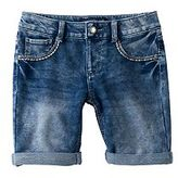 Vanilla Star Girls 7-16 Bling Pocket Bermuda Jean Shorts