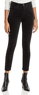7 For All Mankind Skinny Velvet Ankle Jeans