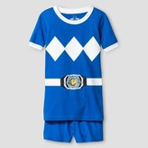 Power Rangers Boys' 2 Piece Pajama Set - Blue