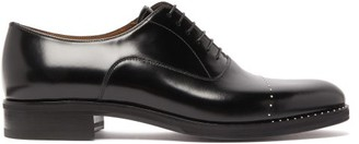 Christian Louboutin Larrieu Leather Oxford Shoes - Mens - Black