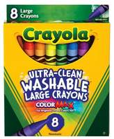Crayola UltraClean Crayons Large Washable 8ct