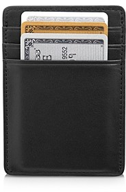 Royce New York Leather Magnetic Money Clip Wallet