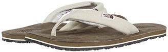 The North Face Base Camp Leather Flip-Flop (Vintage White/Bipartisan Brown) Women's Shoes