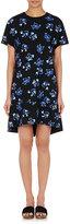 Proenza Schouler Women's Crepe Short-Sleeve Dress-BLUE
