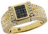 Effy Jewelry Diversa Yellow Gold Blue & White Diamond Ring, 1.0 TCW