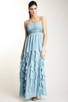 Decode 1.8 Beaded Ruched A-line Dress 180404HP2