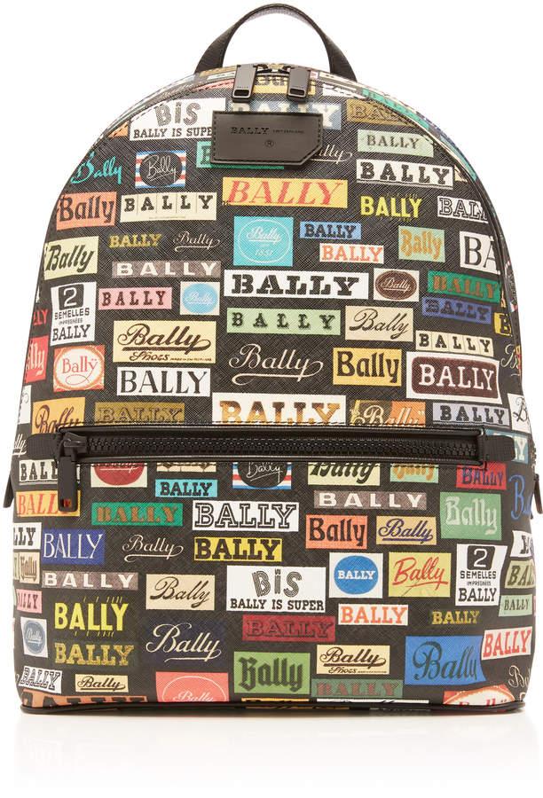 Bally Multicolored Logo Backpack