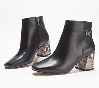 Vince Camuto Leather or Suede Ankle Boots - Laiklen