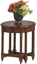 Progressive Canton Heights Dark Berry Oval End Table