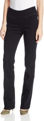 Jag Jeans Women's Petite Paley Pull on Bootcut Jean in Comfort Denim