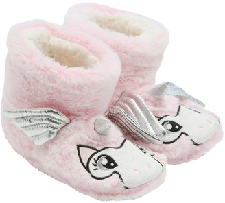M&Co Unicorn slipper boots