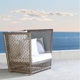 Panama Jack Maldives Patio Chair with Sunbrella Cushions Outdoor Cushion Color: Spectrum Graphite