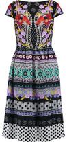 Temperley London Marley Printed Crepe Dress