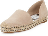 Dolce Vita Chord Suede d'Orsay Espadrille Flat, Beige