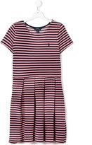 Ralph Lauren striped pleated dress