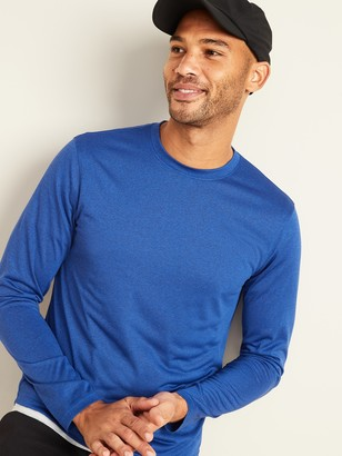 Old Navy Go-Dry Cool Odor-Control Core Long-Sleeve Tee for Men