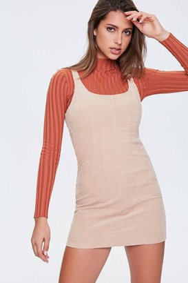 Forever 21 Ribbed Overall Dress