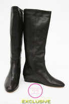 Chocolate Matilde Flat Boot  in stock!