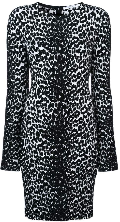 Givenchy Leopard Print Dress