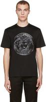 Versace Black Studded Medusa T-shirt