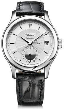 Chopard L.U.C. Classic GMT Automatic Silver Dial Men's Watch