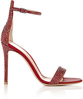 Gianvito Rossi Women's Glam Ankle-Strap Sandals-RED