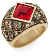 Heidi Daus Tailored Brilliance Swarovski Crystal Ring