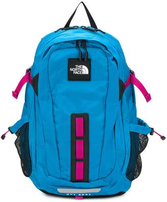 The North Face logo patch backpack