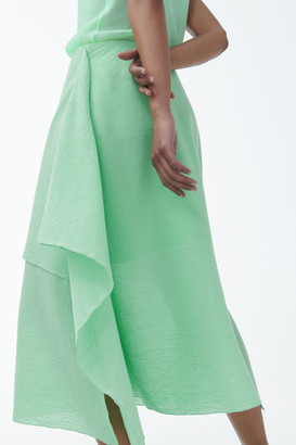 Cos Organic Cotton Double Layer Skirt