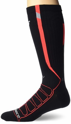 New Balance 1 Pack Run Reflective Compression OTC Socks