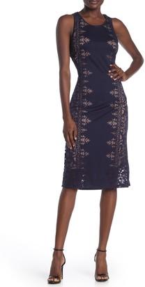 14th Place Stitch Fix Burnout Sleeveless Dress