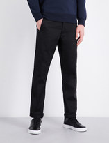 Polo Ralph Lauren Slim-fit straight cotton-twill trousers