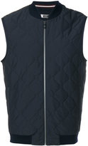Z Zegna quilted sleeveless jacket