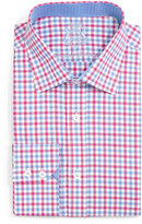 English Laundry Gingham Check Dress Shirt, Red/Blue
