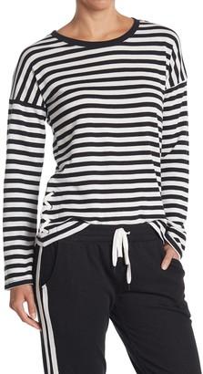 PJ Salvage Stripe Long Sleeve Pajama T-Shirt