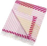 Designers Guild Traliccio Blanket - 190x130cm - Peony