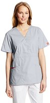 Dickies Women's EDS Signature Mock Wrap Top with Multiple Instrument Loop