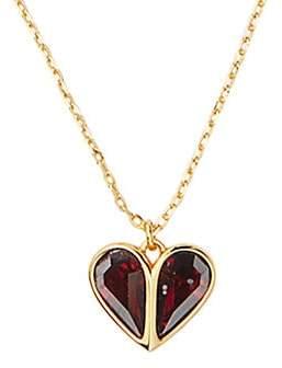 Kate Spade Women's Stone Heart Mini Pendant Necklace
