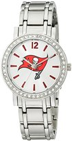 Game Time NFL Women's 10027052 All Star Analog Display Japanese Quartz Silver Watch