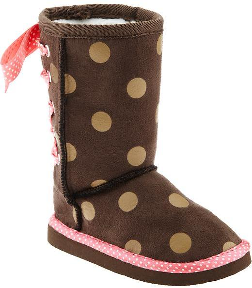 Old Navy Embellished Boots for Baby