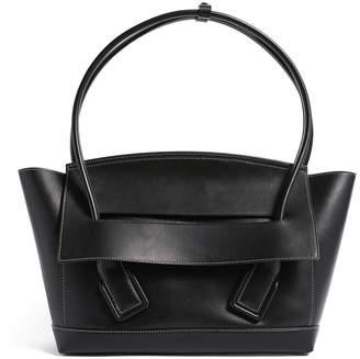 Bottega Veneta Leather Arco 48 Top-Handle Bag