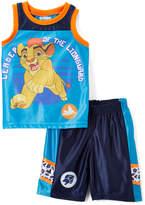 Children's Apparel Network Blue The Lion Guard Tank & Shorts - Toddler