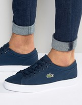 Lacoste Straightset Canvas Trainers