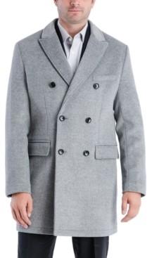 Michael Kors Men's Perrington Classic-Fit Double Breasted Top Coat
